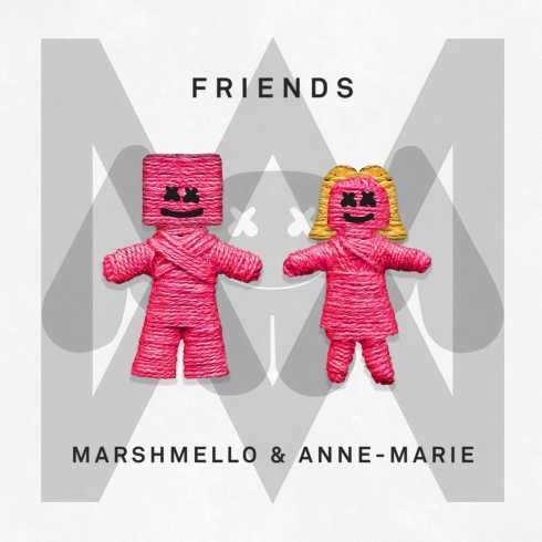 متن و دانلود اهنگ FRIENDS از Marshmello & Anne-Marie